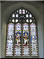 TG0805 : The east window at Carleton Forehoe St. Mary's church by Adrian S Pye