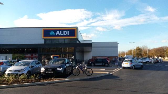 New Gilingham Aldi Store
