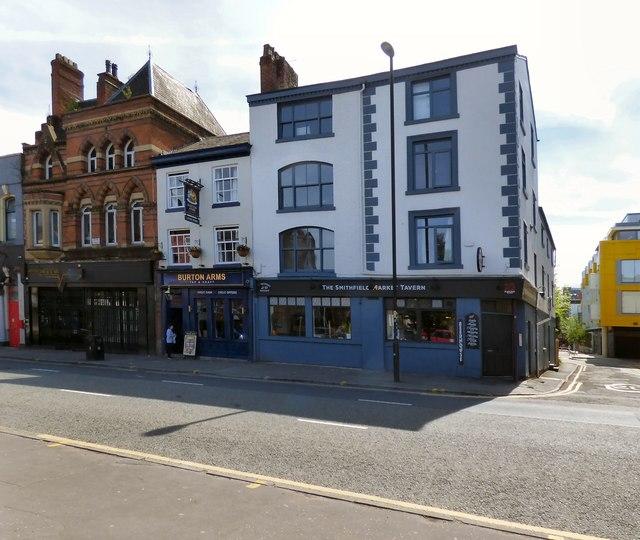 Three venues on Swan Street