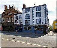 SJ8498 : Three venues on Swan Street by Gerald England