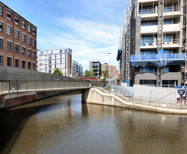 Footbridge over the Rochdale Canal
