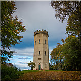 NJ0459 : Nelson Tower, Forres by Peter Moore