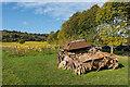 TQ1651 : Tank, Denbies Vineyard by Ian Capper