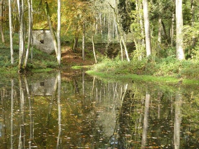 Lake in Fishpool Valley, Croft Castle