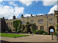 SJ2638 : Chirk Castle - main courtyard, looking north-west by Stephen Craven