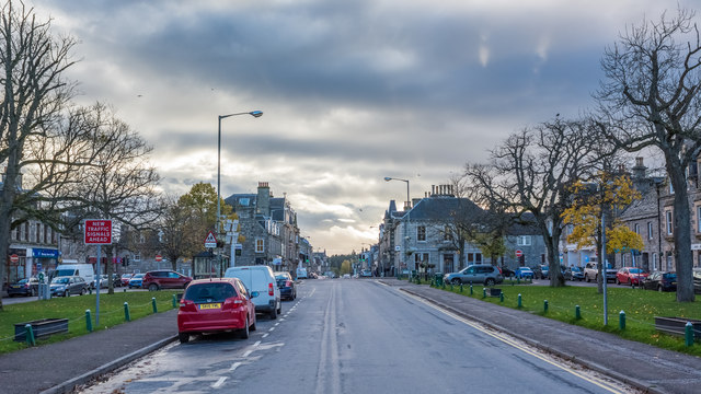 Grantown-on-Spey High Street