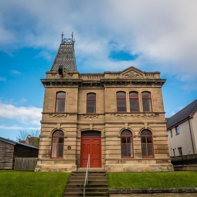 Dunbar Memorial Hall, Auldearn