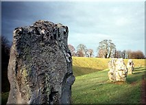 SU1070 : Avebury Stone Circle by norman griffin