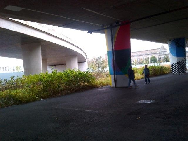 Bridge access ramp