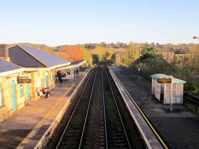 Chepstow Station Looking North