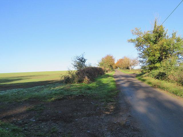 Newnham: on the way to Caldecote