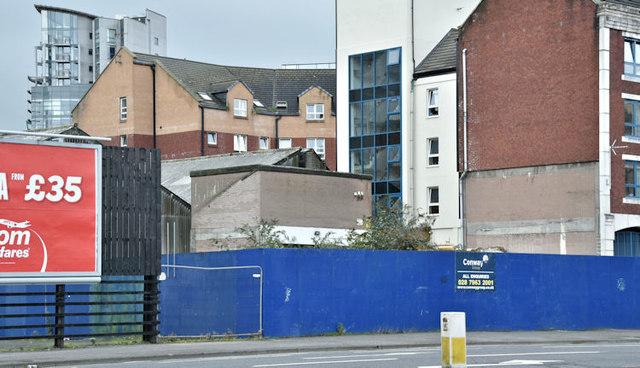 Development site, 21-29 Corporation Street, Belfast (October 2017)