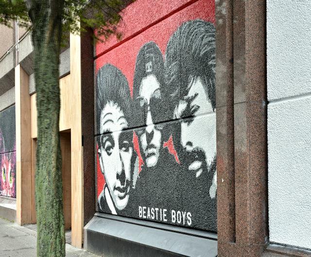 Street art, Donegall Street, Belfast - October 2017(1)