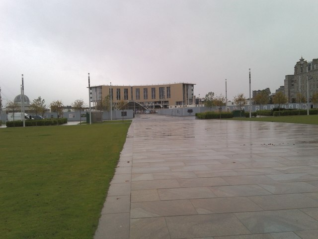 Dundee's new rail station