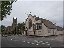 SO9596 : Holy Trinity RC Church, Bilston by Helen Steed