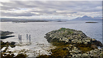 NG7528 : Coast near Badicaul by Julian Paren