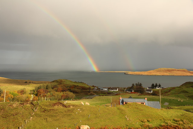 Flodigarry rainbow