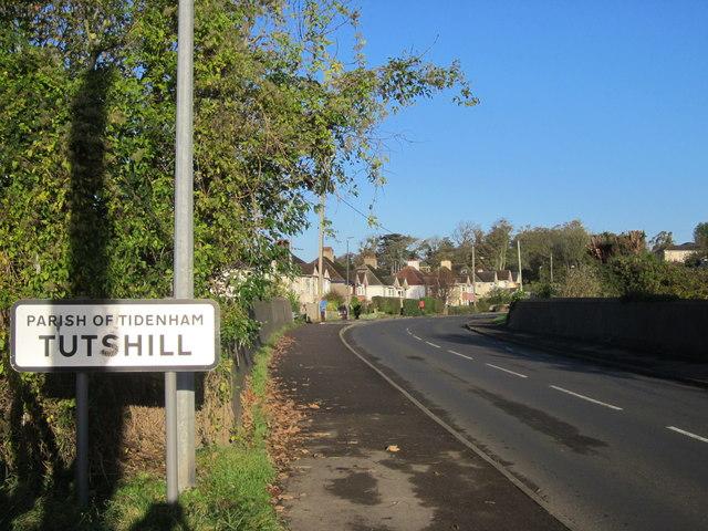 Tutshill Village Sign Beachley Road