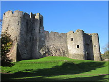 ST5394 : Chepstow Castle by Roy Hughes
