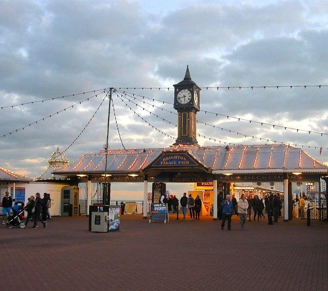 Entrance, Palace Pier, Brighton