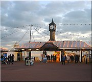 TQ3103 : Entrance, Palace Pier, Brighton by Simon Carey