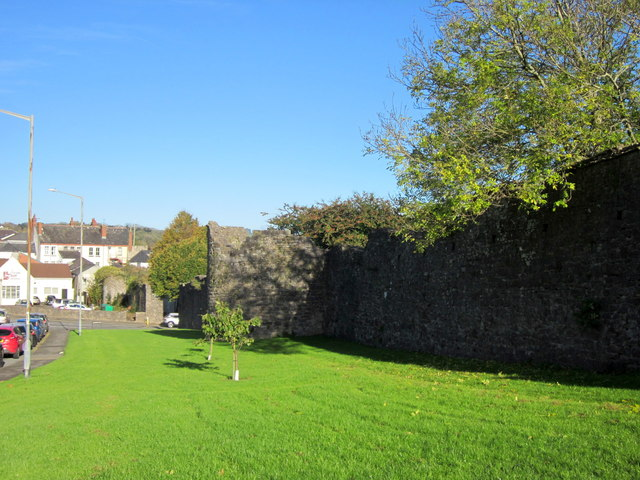 Chepstow Town Walls Rockwood Road