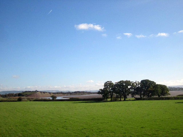 Fields Alongside River Severn
