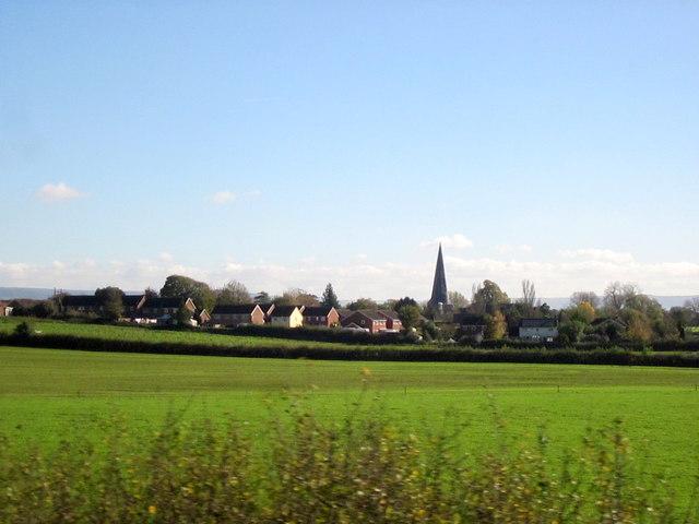 Fields Near Westbury on Severn