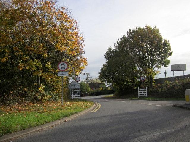 Whittington Village Sign