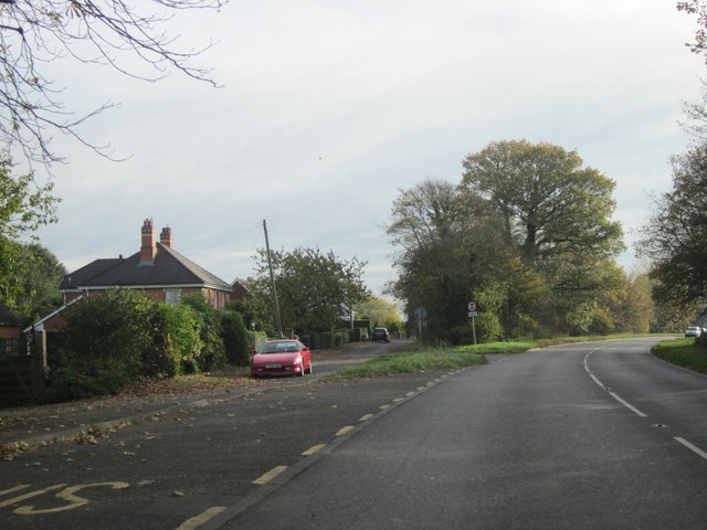Houses Just Off The B4084 South East of M5 Junction 7