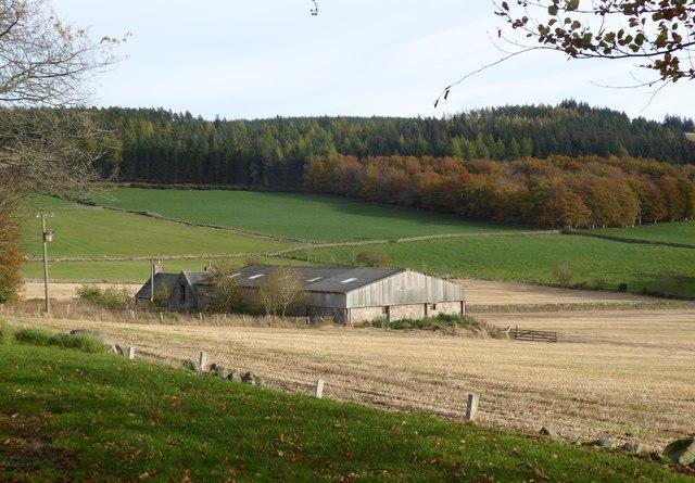 View towards  Corquhittachie from near Skerryalva