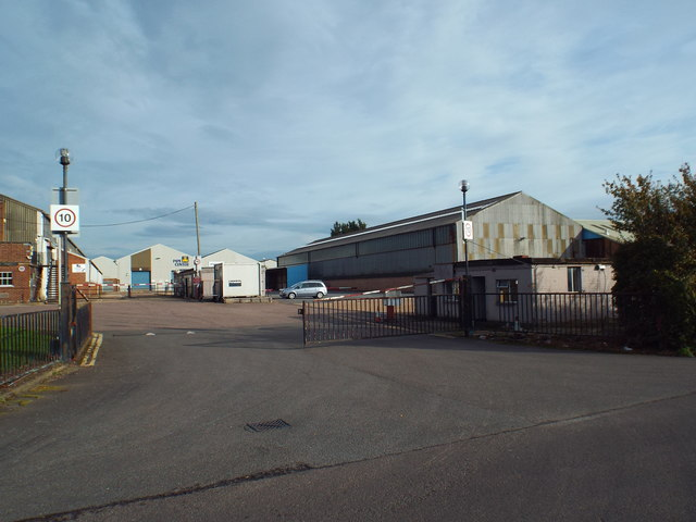 Industrial site near West Horndon