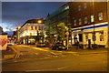 SJ8498 : Weird sunset in Stevenson Square by Bob Harvey