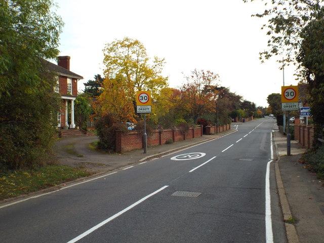 Rectory Road, Orsett by Malc McDonald