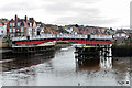 NZ8911 : Whitby Harbour Swing Bridge by David Dixon