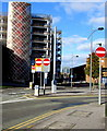 ST3187 : Four No Entry signs, Emlyn Street, Newport by Jaggery