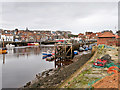 NZ9010 : River Esk, Whitby Harbour by David Dixon