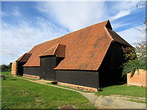 TL8422 : Grange Barn, Coggeshall by John H Darch