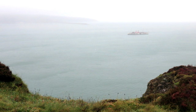 Clifftop with distant Waverley