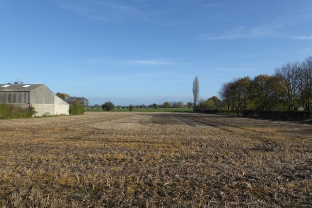 Farmland off the B1223