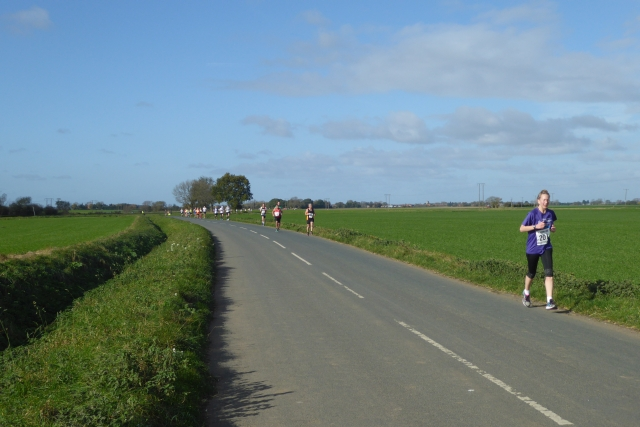 Runners on Lordship Lane