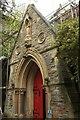 ST5874 : Porch, former St Nathanael's church by Derek Harper