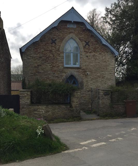 Former Ebenezer Chapel, Greenslade Road, Blackawton
