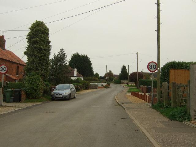 Station Road, Dersingham