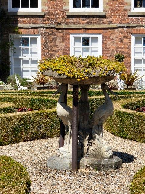 Sculpture in the parterre