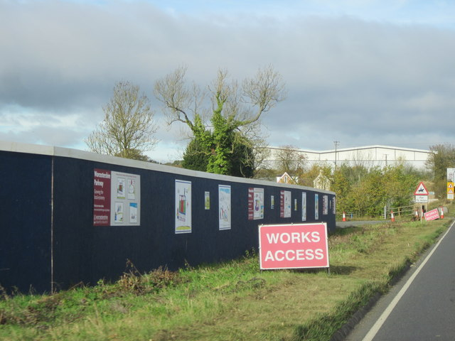 B4084 The Site of Proposed Worcester Parkway Station
