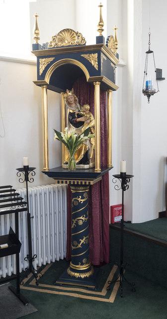 Our Lady & St John the Evangelist, Sudbury - Shrine