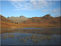 NY2904 : Blea Tarn and the Langdale Pikes by Karl and Ali