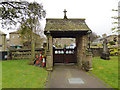SE0636 : St John the Evangelist, Cullingworth - lych gate by Stephen Craven