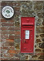 TF7032 : Victorian postbox, Shernborne Hall by JThomas